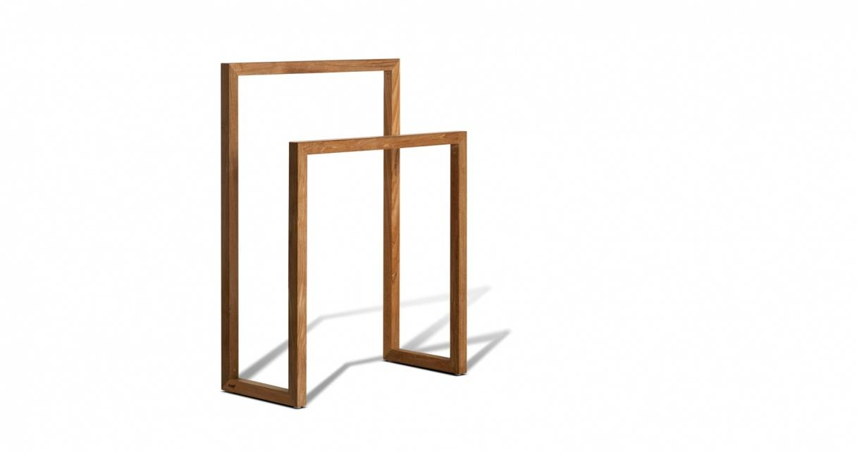 TRIBÙ Towel Rack Teak