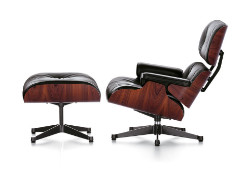 VITRA Eames Loungechair and Ottoman_1