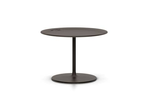VITRA Occasional Low Table Metal Chocolate