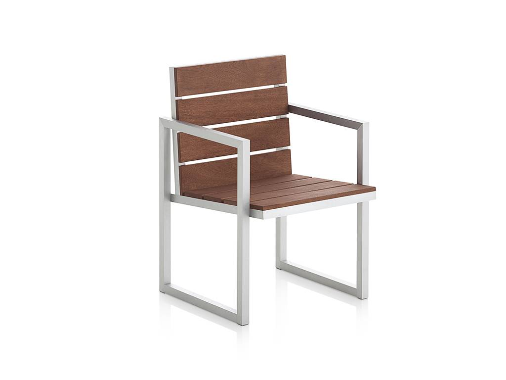 GANDIA BLASCO Saler Teak Chair High 2