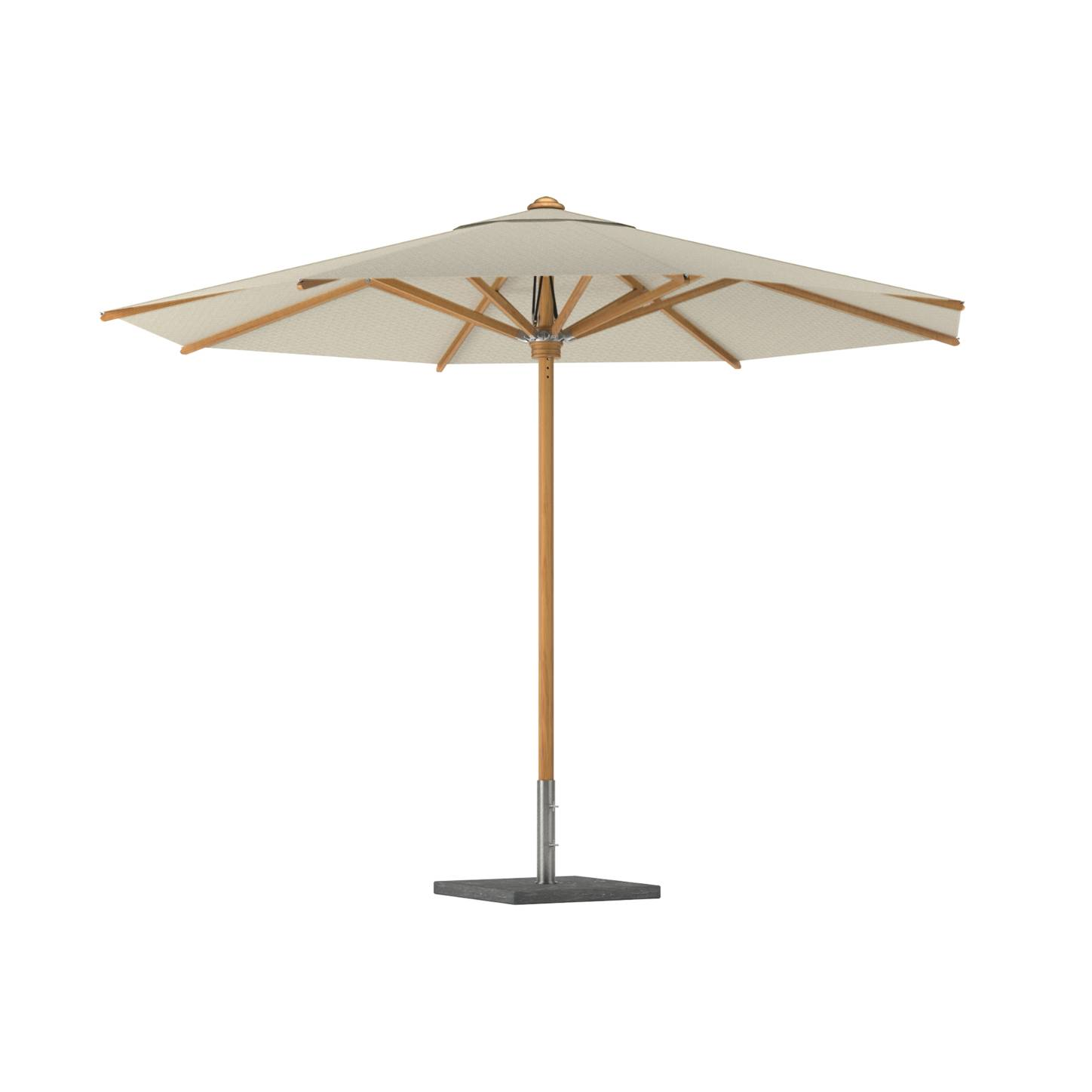 ROYA BOTANIA Shady Teak Umbrella 2